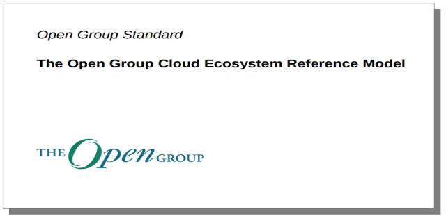 OpenGroup - Cloud Ecosystem